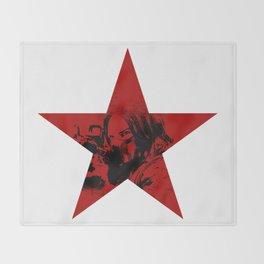 Winter Soldier Star Throw Blanket