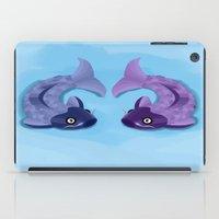 koi iPad Cases featuring Koi by Nir P