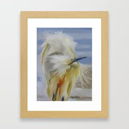 The Itch Framed Art Print