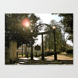 The Arch at UGA Canvas Print