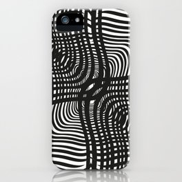 Black and White Illusion iPhone Case