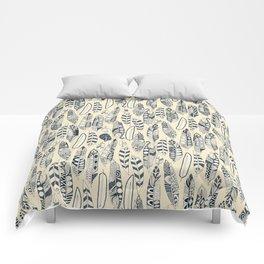 joyful feathers cream Comforters