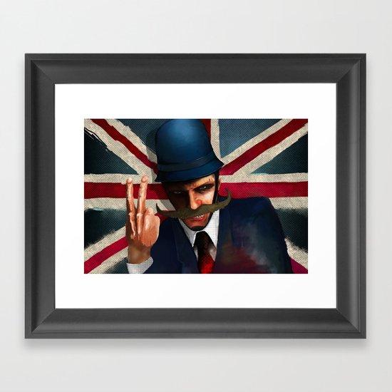 The bollocks Framed Art Print