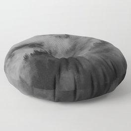 foggy feels Floor Pillow