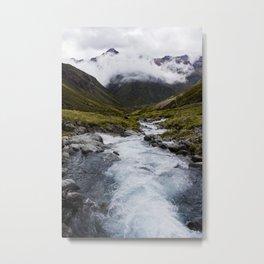 Otira River Metal Print