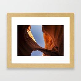 Rattlesnake Canyon, AZ - Bridge Framed Art Print
