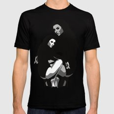 BEAUTY GIRL MEDIUM Black Mens Fitted Tee