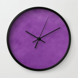 Chérissent Gradient in HUES of PURPLE Home Decor Wall Clock