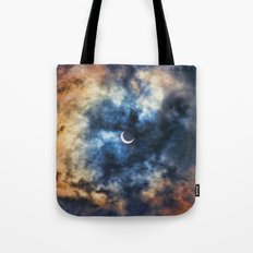Night Moves - Partial Solar Eclipse Tote Bag