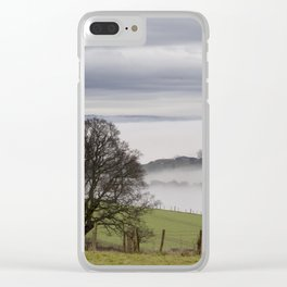 Misty Panorama Clear iPhone Case