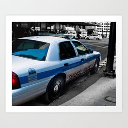 Protect and Serve. Art Print