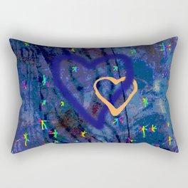 Star rainbow Rectangular Pillow