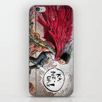 akira iPhone & iPod Skins featuring Akira Tetsuo  by Joe Badon