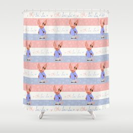Oh- La-La! Shower Curtain