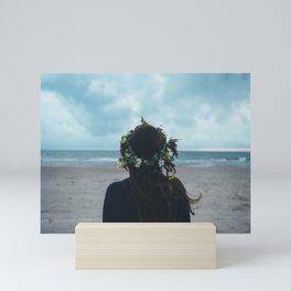 Coast Girl Mini Art Print