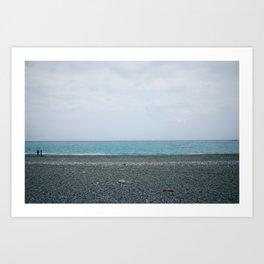 Horizon @ Taiwan Art Print