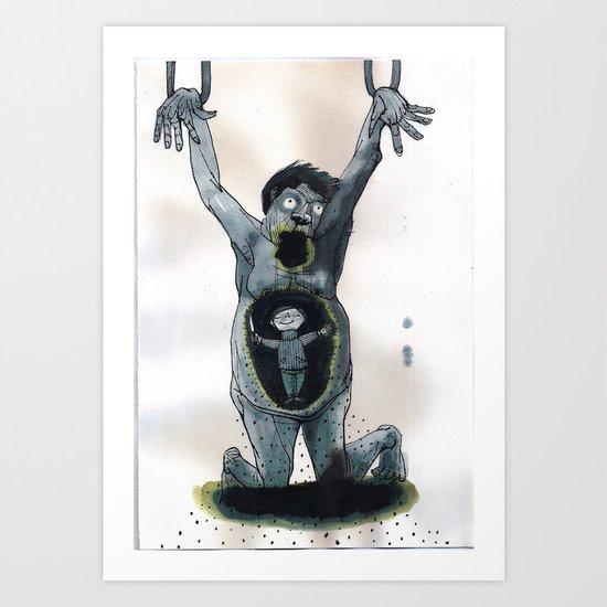 pathologist Art Print