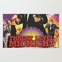 Geng Threat Level Midnight Rug