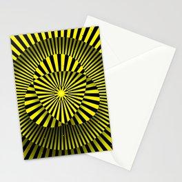 Manipura chakra (yellow) Stationery Cards