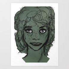 Annie Clark Art Print