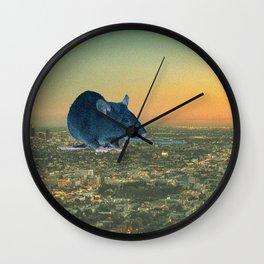 violent Los Angeles. Wall Clock