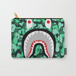 Bape Shark Grey Carry-All Pouch