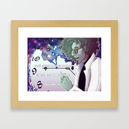 Why Be Another Cog Framed Art Print