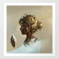 elf Art Prints featuring Elf by LauraSava