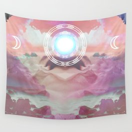 Earth, Air, Fire, Water Wall Tapestry