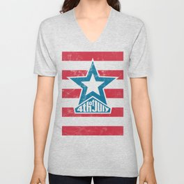 Happy 4th of July - independence day Unisex V-Neck