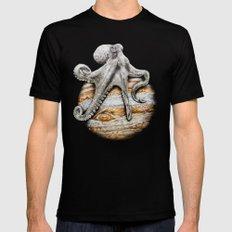 Celestial Cephalopod MEDIUM Black Mens Fitted Tee