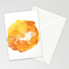 Color Spot Safari Lion Stationery Cards