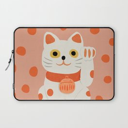 Abstraction_Lucky_Charm_Cat Laptop Sleeve
