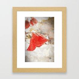 LAST KISS Framed Art Print