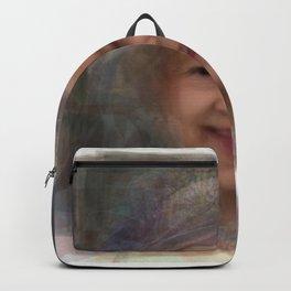 Queen Elizabeth II Portrait Backpack