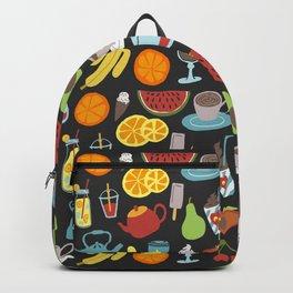 Fruit & Beverages Flash Sheet Backpack