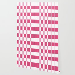 Gradient prism pink and fandango Wallpaper