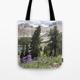 Nevada Summer Wildflowers Tote Bag
