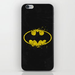 Bat man's Splash iPhone Skin