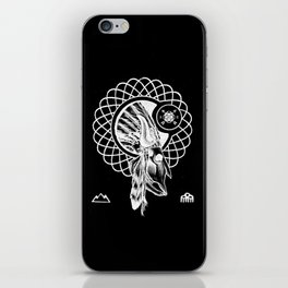 SPIRIT PATH iPhone Skin