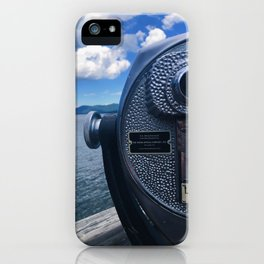 Lake George - view 1 iPhone Case