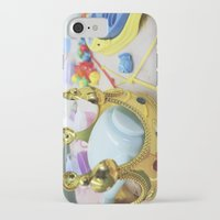 crown iPhone & iPod Cases featuring Crown by Faith Buchanan