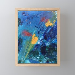 Views of Rainbow Coral, Tiny World Collection Framed Mini Art Print