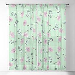 Spring Beauty Sheer Curtain