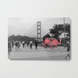 Unseen Monsters of San Francisco - Lil Waterayloo Metal Print
