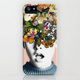 Twiggy Surprise iPhone Case