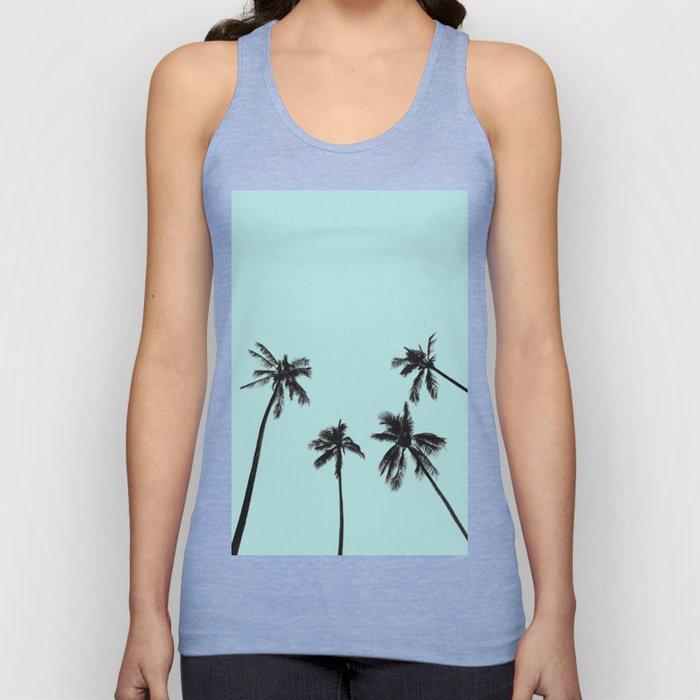Palm trees 5 Unisex Tank Top
