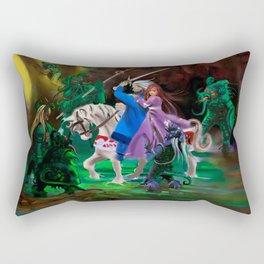 Attack Rectangular Pillow