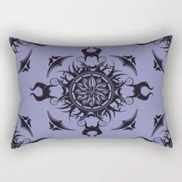 Maleficent Mandala Rectangular Pillow