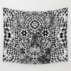 Skull VII Wall Tapestry